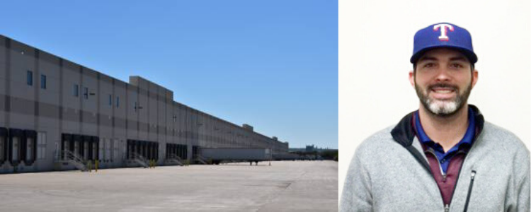 JT Schaffer & the exterior of the Grand Lakes facility