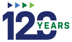 TSG 120 Year Logo