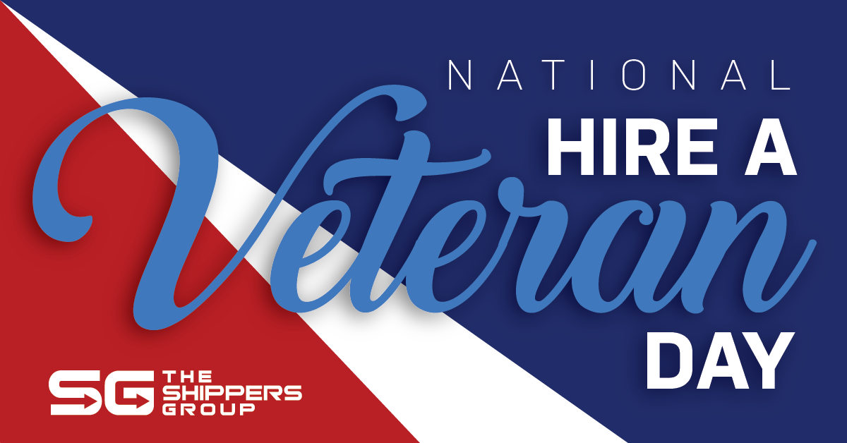 TSG National Hire a Veteran Day graphic