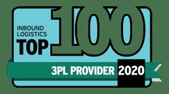 Top 100 3PL Badge 2020