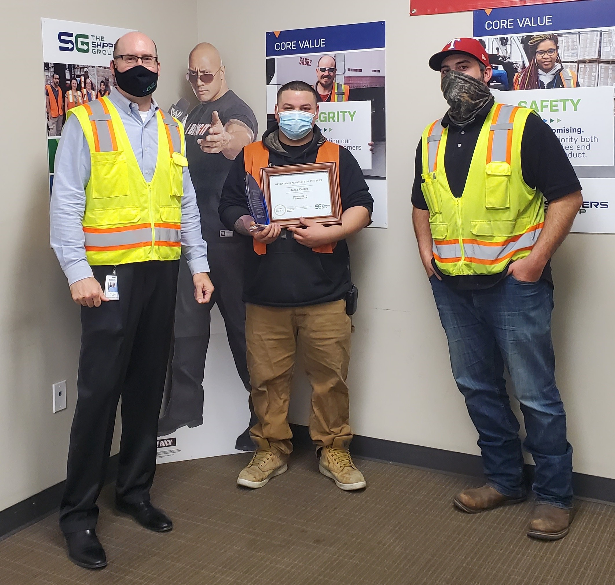 The Shippers Group Names Jorge Cortez as 2020's Operations Associate of the Year