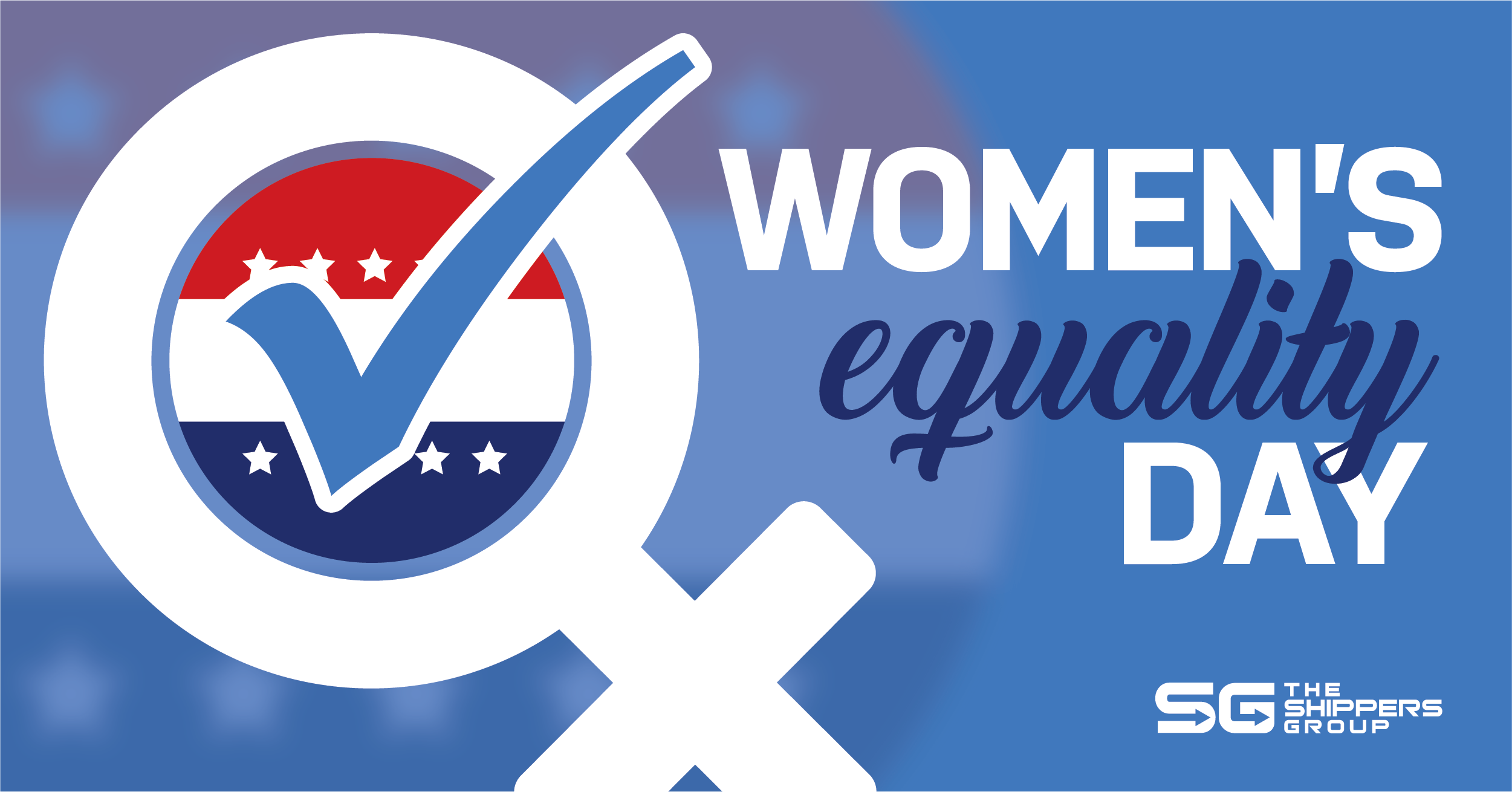 The Shippers Group is celebrating women's right to vote on National Women's Equality Day